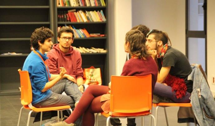 Debat en la 6a Edició de les Jornades de Lleure i Sexisme Font: Jornades de Lleure i Sexisme