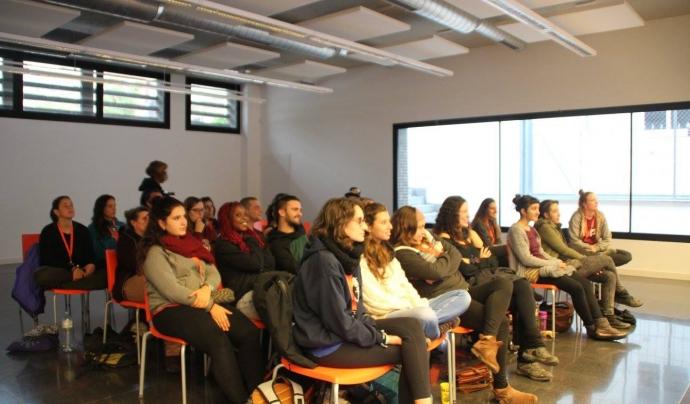 Una activitat de la 6a edició de les Jornades Lleure i Sexisme Font: Jornades de Lleure i Sexisme
