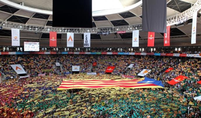 La Tarraco Arena ha reivindicat la llibertat dels presos polítics