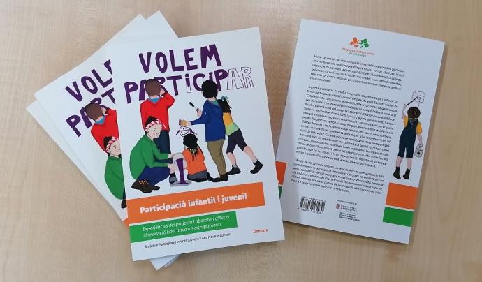 Publicació 'Participació infantil i juvenil.Experiències del projecte Laboratori d'Acció i Innovació Educativa als agrupaments' de MEG Font: Minyons Escoltes i Guies de Catalunya