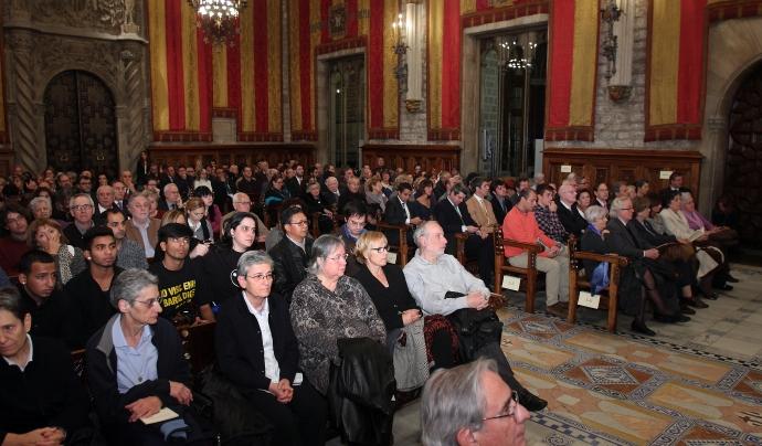 Entrega de les Medalles d'Honor del 2013 (Font: Ajuntament de Barcelona)