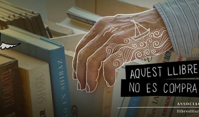 Imatge de la portada del Facebook de l'Associació Llibres Lliures