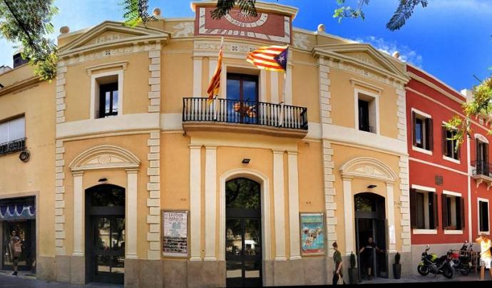 La façana dels Lluïsos de Gràcia Font: Lluïsos de Gràcia