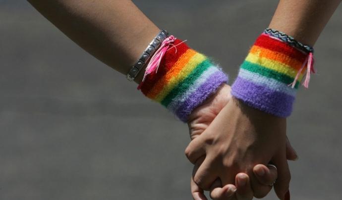 El col·lectiu LGTBI encara no pot viure la seva sexualitat de manera normalitzada. Font: Público
