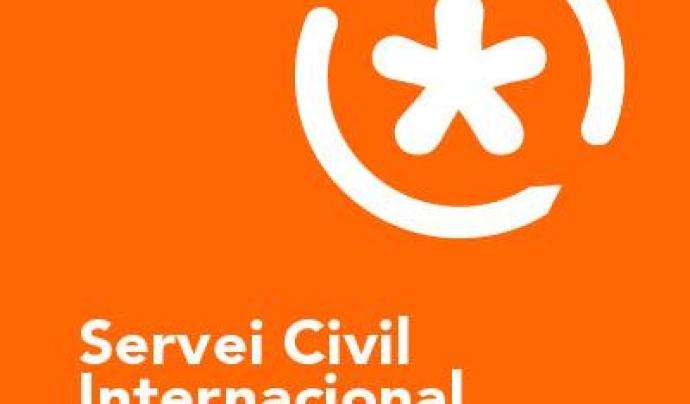 Logo del Servei Civil Internacional de Catalunya. Font: SCI