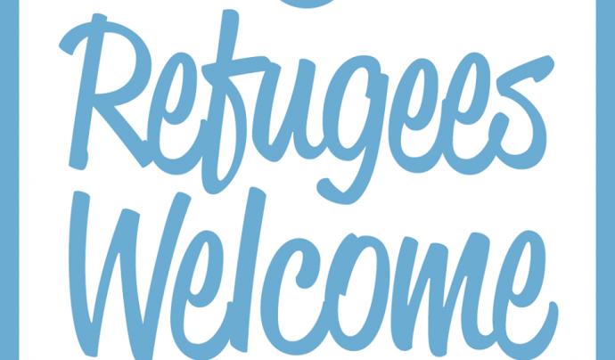 Logo Refugees Welcome.