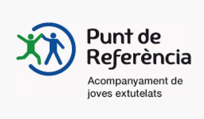 Logotip de Punt de Referència. Font: Punt de Referència