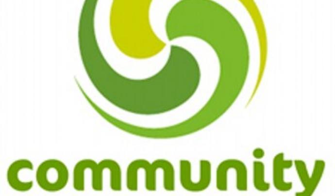 Logo de Community Windpower, principal cooperativa d'energia eòlica del Regne Unit. Font: Community Windpower