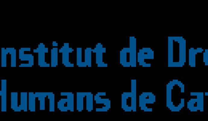 Logo de l'Institut de Drets Humans de Catalunya.  Font: IDHC