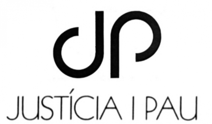 El logotip de Justícia i Pau. Font: Justícia i Pau