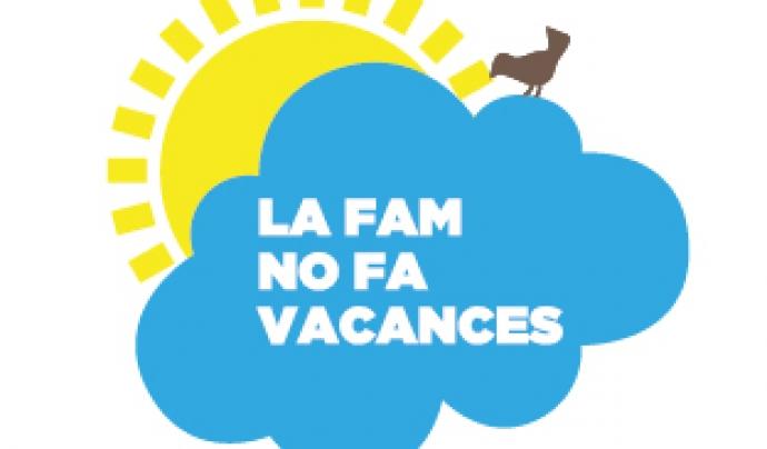 Logotip de 'La fam no fa vacances'. Font: Fundació Banc dels Aliments