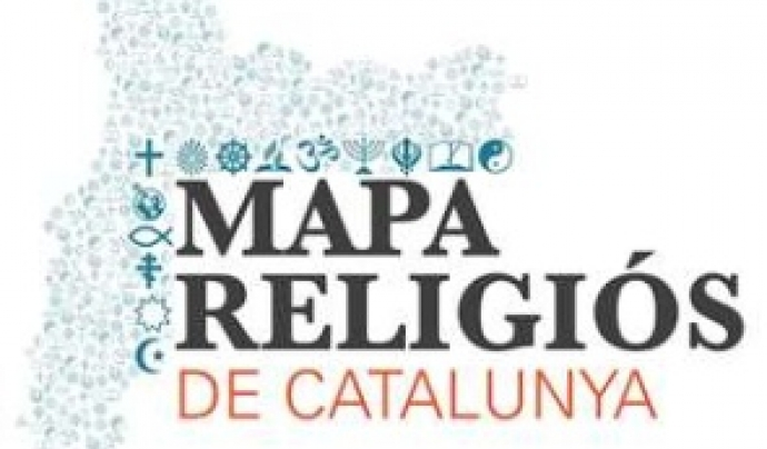Logotip del Mapa Religiós de Catalunya Font: Direcció d'Afers Religiosos de la Generalitat de Catalunya