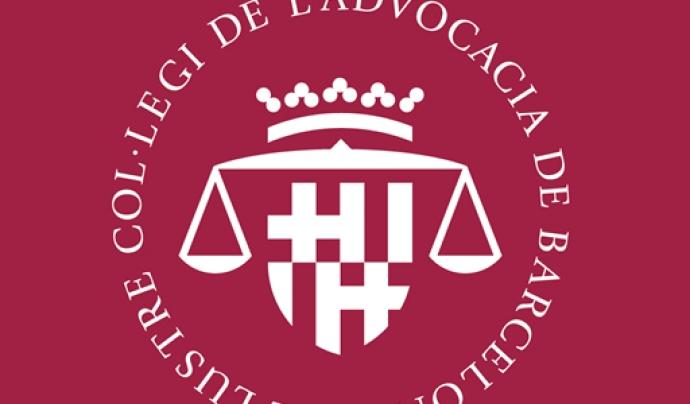 Logotip del Col·legi de l'Advocacia de Barcelona Font: ICAB