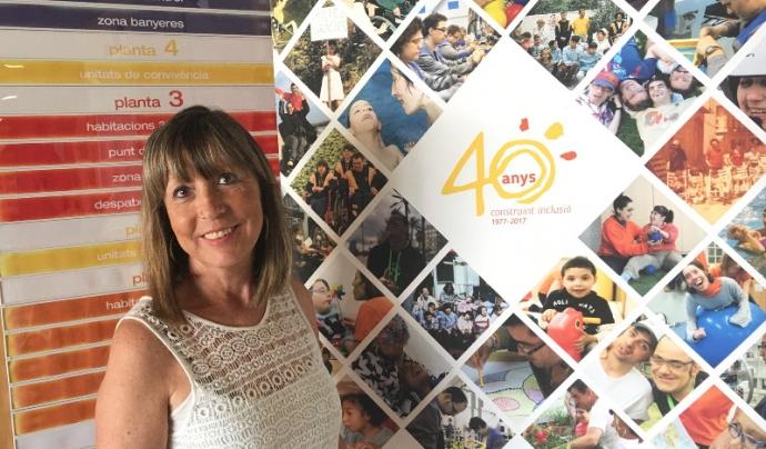 Lola de la Fuente, directora general de l'Associació Esclat Font: Associació Esclat