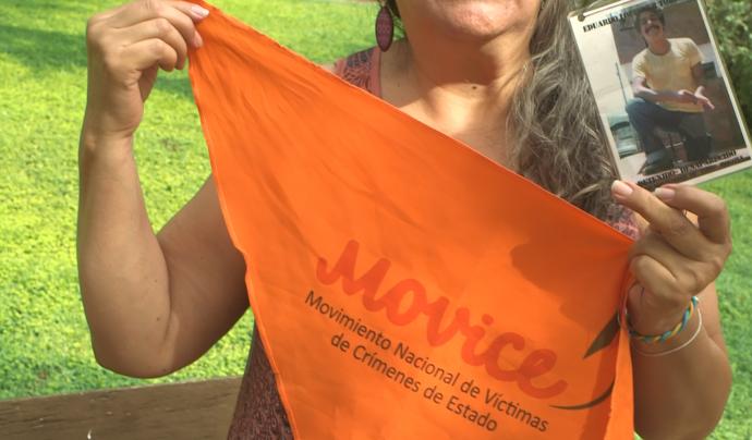 Va ser una de les impulsores del Movimiento de Víctimas de Crímenes Estado (Movice). Font: Carlos Faneca