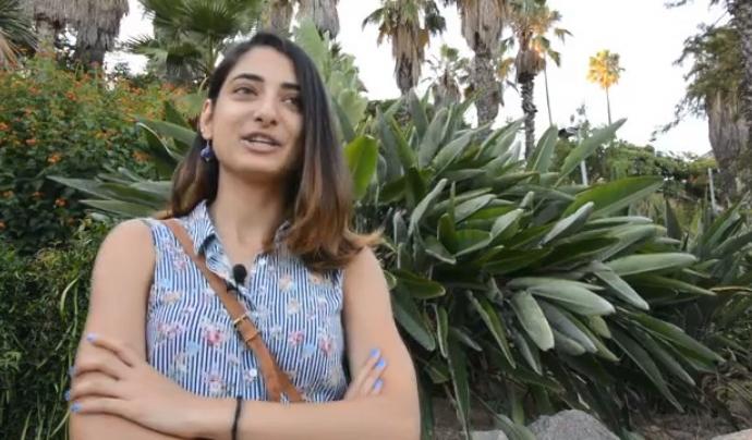 Una de les  persones que ofereixen el seu testimoni al vídeo del projecte Font: CONFAVC