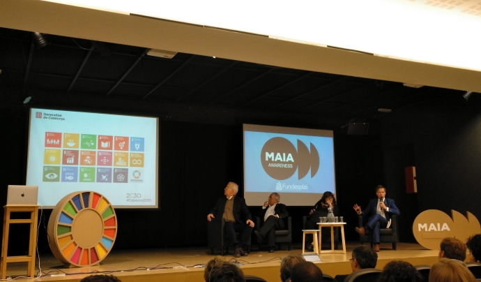 El curs abordarà projectes col·laboratius a través de l'Agenda 2030 i els ODS. Font: Fundesplai. Font: Font: Fundesplai.