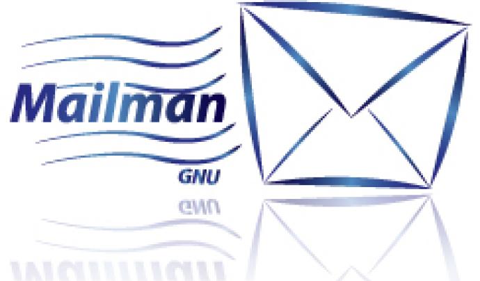 Amb Mailman, podreu gestionar les llistes electròniques. Funciona sota GNU/Linux