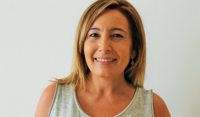 Maite Montañés, la presidenta de l'Afanoc.  Font: Afanoc