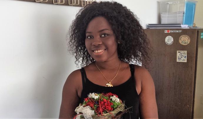 Mame Darra Ndiaye de l'Escola d'Adults de la Verneda - Sant Martí Font: Escola d'Adults de la Verneda - Sant Martí