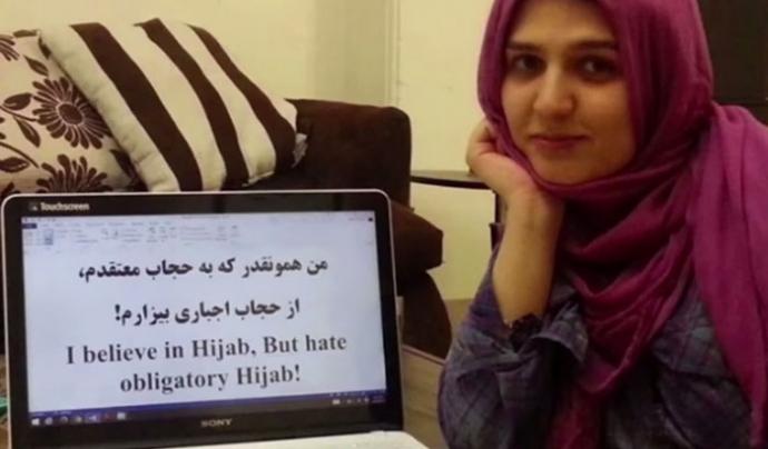 iranianes contra la imposició de la vestimenta islàmica
