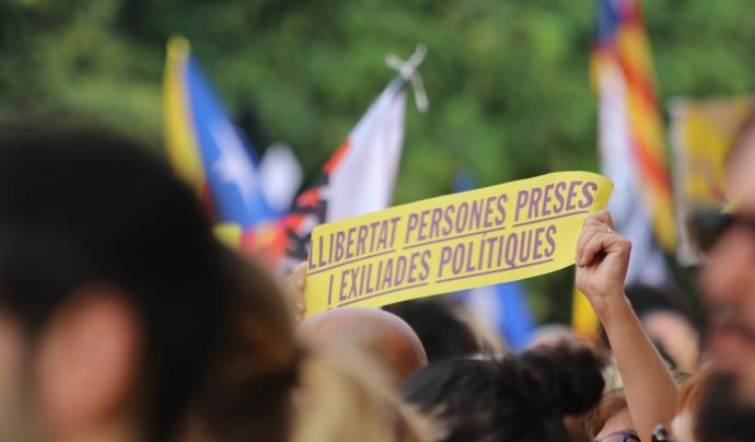 La Diada servirà també per reivindicar la llibertat de les persones preses, exiliades i represaliades Font: Viquipèdia