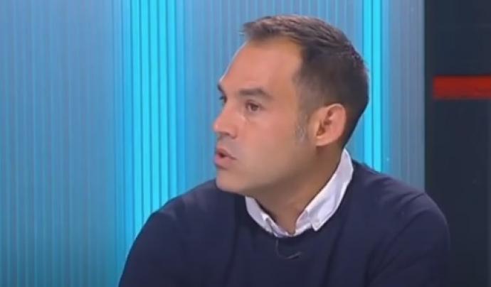 Manu Izquierdo, coordinador de la Comissió d'Àmbit Penitenciari i Execució Penal d'ECAS. Font: Youtube