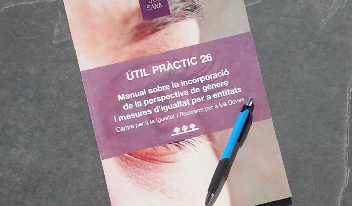 El document ha estat elaborat pel Centre per la Igualtat i Recursos per a les Dones (CIRD) i publicat per Torre Jussana. Font. Suport Associatiu