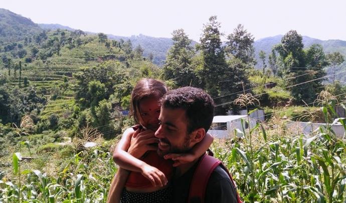 Sobejanes ha fet projectes educatius a El Salvador.  Font: Manuel Sobejanes.