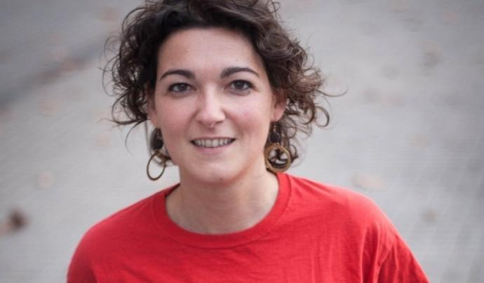 Maria Campuzano és la portaveu de l'Aliança contra la Pobresa Energètica. Font: APE