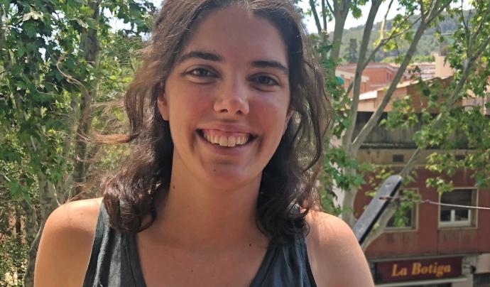 Maria Clapés, autora del llibre i l'obra teatral 'Amic meu!'  Font: Maria Clapés