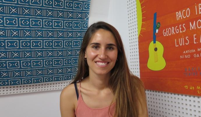 Marina García, presidenta de la Fundació Babel des de l'abril de 2021 substituint la Maria Teresa Gazeau. Font: Fundació Babel