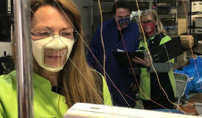 L'entitat ha reivindicat des del març la necessitat que la normativa contemplés les mascaretes higièniques transparents. Font: ACAPPS. Font: Font: ACAPPS.