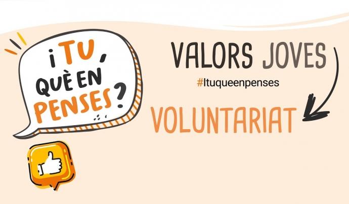 La primera entrega reflexiona sobre la importància del voluntariat juvenil. Font: Fundació Pere Tarrés