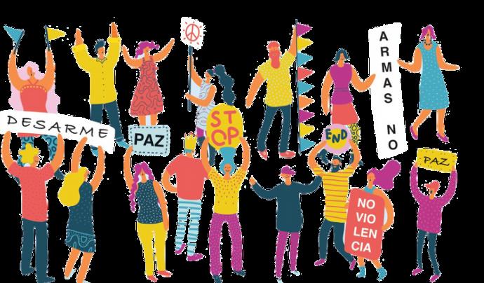 Il·lustració del Centre Delàs per a Pacifistapp. Font: Centre Delàs d'Estudis per la Pau