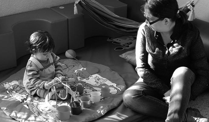 El 17% de les llars ateses per Càritas són mares soles amb fills. (Font: Càritas Diocesana de Sant Feliu de Llobregat)