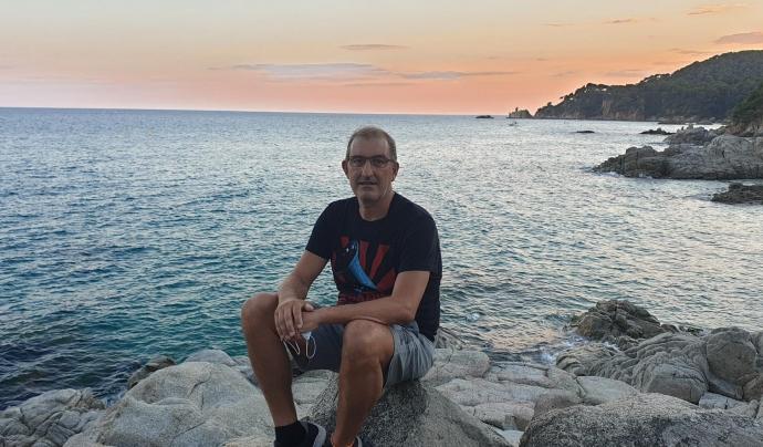 Domingo Romero, treballador i membre del programa de voluntariat d'Aigües de Barcelona. Font: Domingo Romero