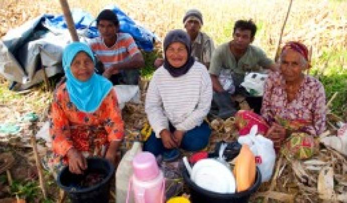 A la comunitat Minangkabau (Sumatra), les dones hereten i gestionen la terra (foto: Anna Boyé).