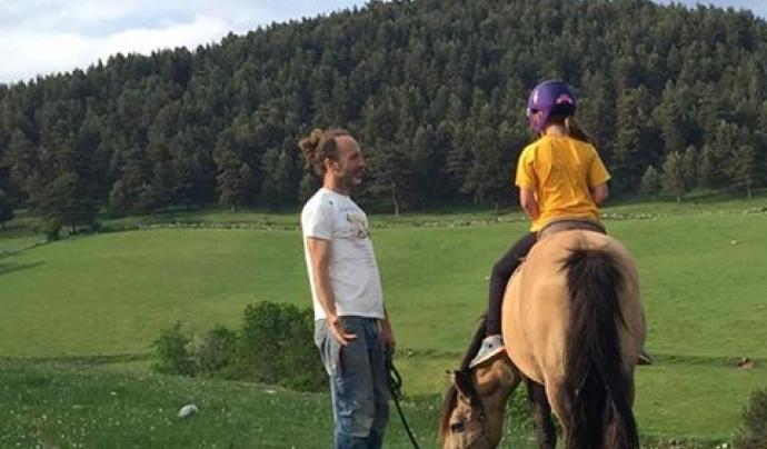 La Fundació Projecte Miranda és un santuari de cavalls lliures (imatge:  projectetmiranda.cat)