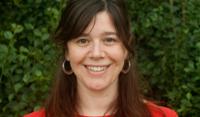 Mireia Duran Brugada, membre de l'Observatori iQ, treballa aportant eines per incorporar la perspectiva feminista a tot tipus d'organitzacions Font: Observatori iQ