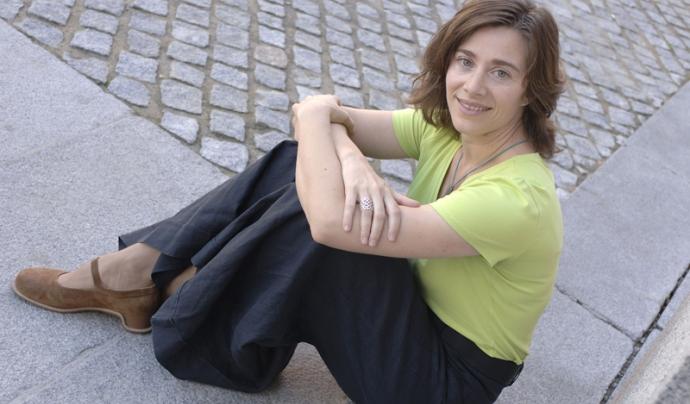 L'actual directora del Cor Madrigal, Mireia Barrera (Foto: Cor Madrigal) Font: Cor Madrigal