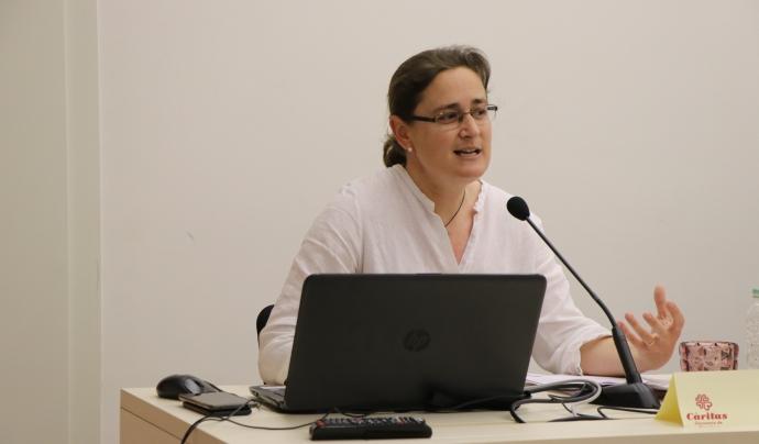 L'informe diu que l'exclusió social és major que la mitjana catalana i espanyola. Font: Càritas