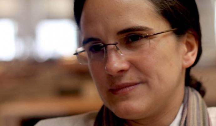Lorena Zárate, presidenta de l'Habitat International Coalition. Font: Lorena Zárate