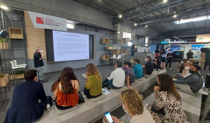 Diverses entitats presenten al Mobile World Congress propostes innovadores en l'àmbit tecnològic. Font: Fundesplai