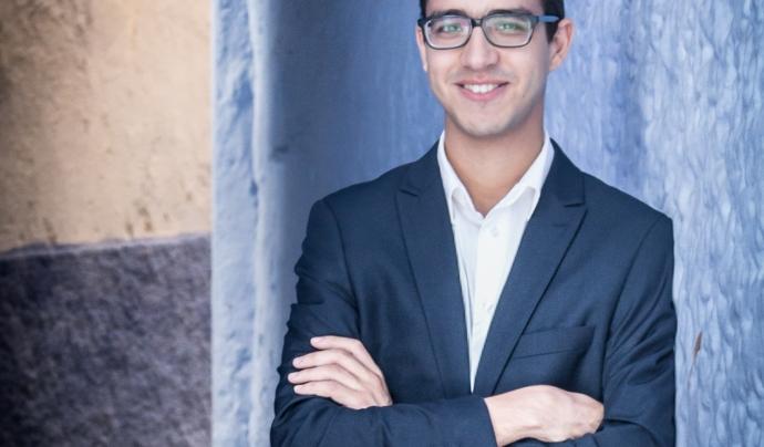 Mohamed El Amrani és el president de l'ONGD Azahara que treballa per a la emprenedoria social i cultural de Salt Font: Mohamed El Amrani
