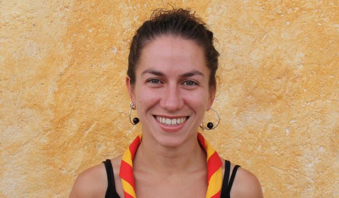 Montse Puig, Coordinadora General de relacions de Minyons Escoltes i Guies de Catalunya Font: Minyons Escoltes i Guies de Catalunya