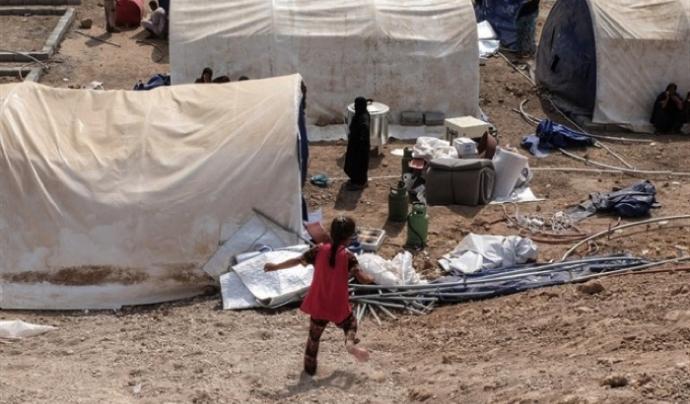 La població de Mosul viu en condicions molt difícils. Font: Europa Press Font: Europa Press