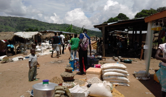 Batangafo, una ciutat on msf té projecte al centre de la República Centreafricana.