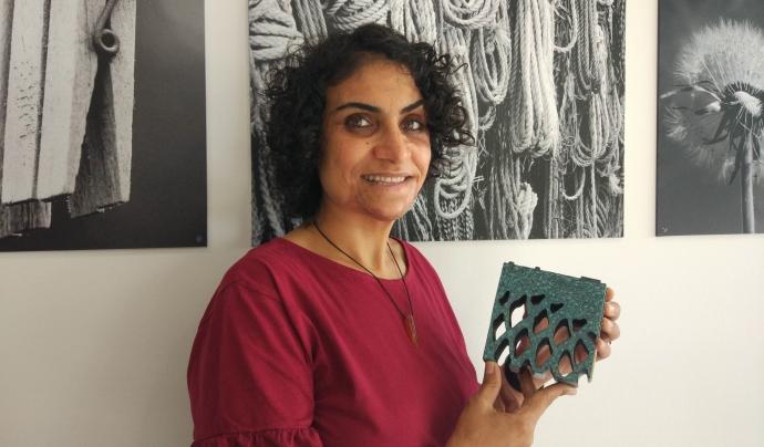 Nadia Ghulam és autora de diversos llibres, com 'El secret del meu turbant' o 'La primera estrella del vespre'. Font: Fundación Esplai. Font: Font: Fundación Esplai.