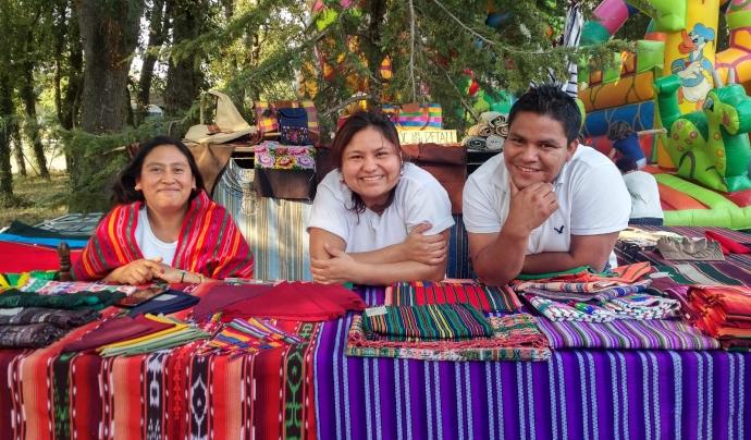 Les persones que participen en aquest projecte són bolivianes. Font: Fundació Utopia